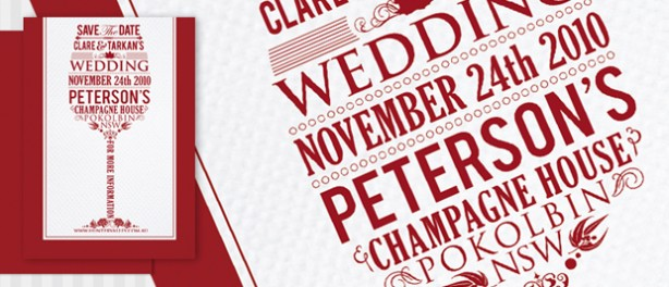 Wedding Stationery Design Co. Wedding invitation design Sydney Australia.